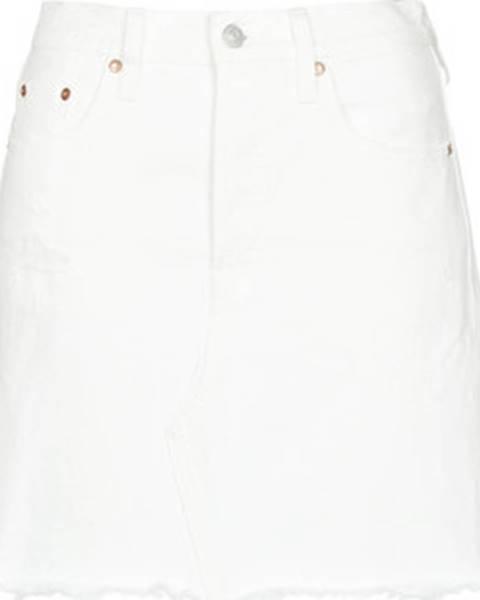 Bílá sukně Levis