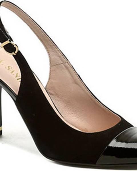 Černé sandály ITALY