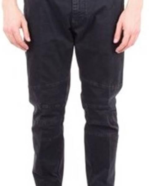 Černé kalhoty Messagerie