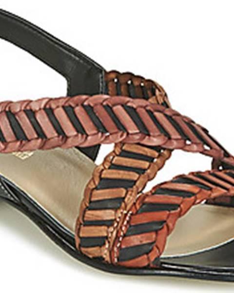 Černé sandály Samoa