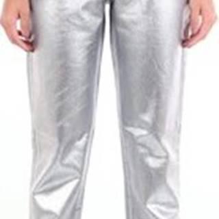 Pto5 Kapsáčové kalhoty DA09VJTIZ10DEN Stříbrná