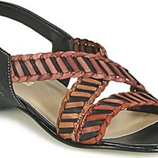 Samoa Sandály NOEMO Černá