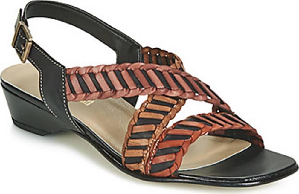 Samoa Samoa Sandály NOEMO Černá