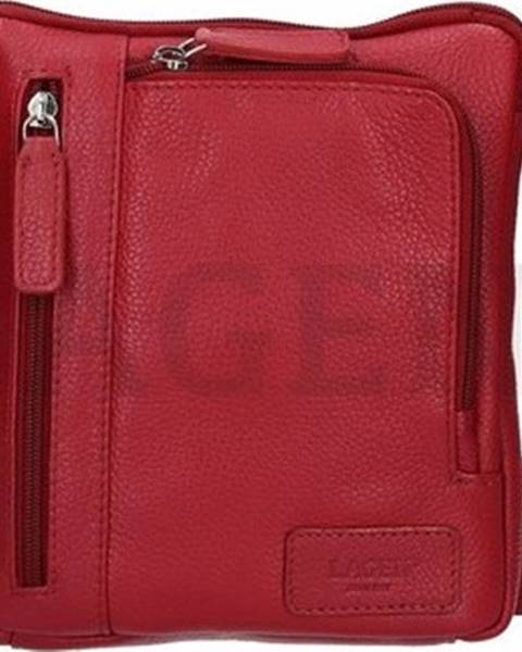 Červená kabelka Lagen