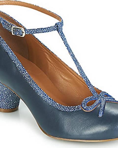 Modré boty Cristofoli
