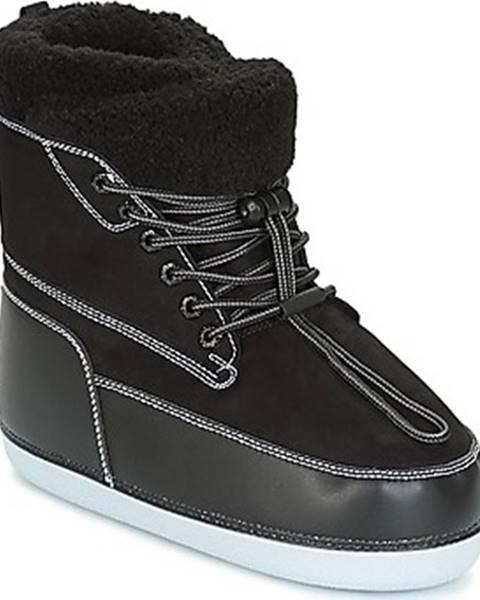 Černé boty Kenzo