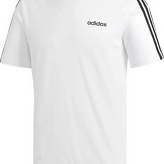 adidas Trička s krátkým rukávem Essentials 3STRIPES Bílá