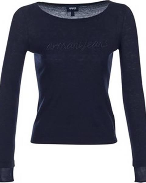 Modrý svetr Armani Jeans