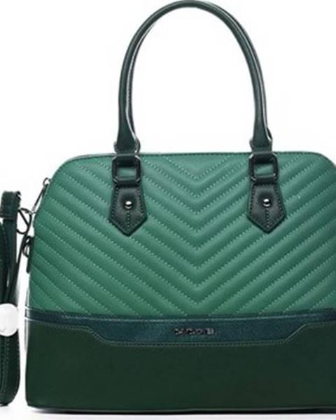 Zelená kabelka David Jones