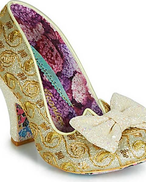 Zlaté boty Irregular Choice