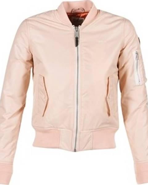 Růžová bunda Schott