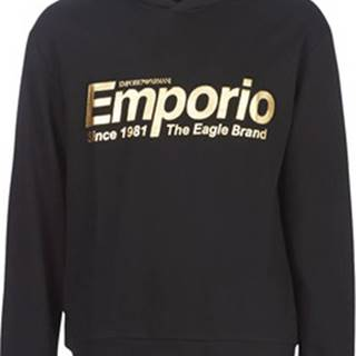 Emporio Armani Mikiny 6G1MF8-1J07Z-0004 Černá