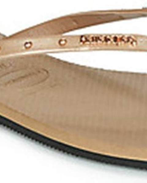 Zlaté pantofle havaianas
