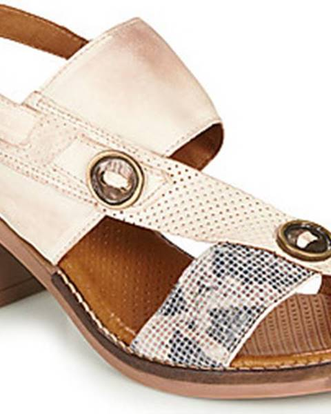 Béžové sandály Casta