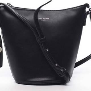 David Jones Velké kabelky / Nákupní tašky Dámská crossbody kabelka černá - Misahy Černá