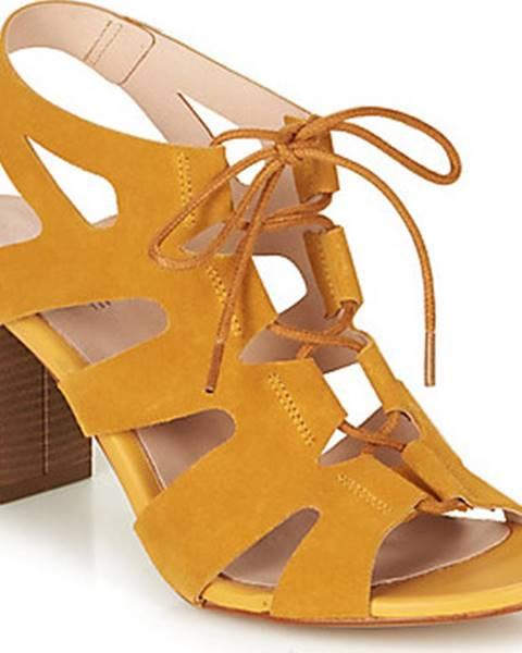 Žluté sandály André