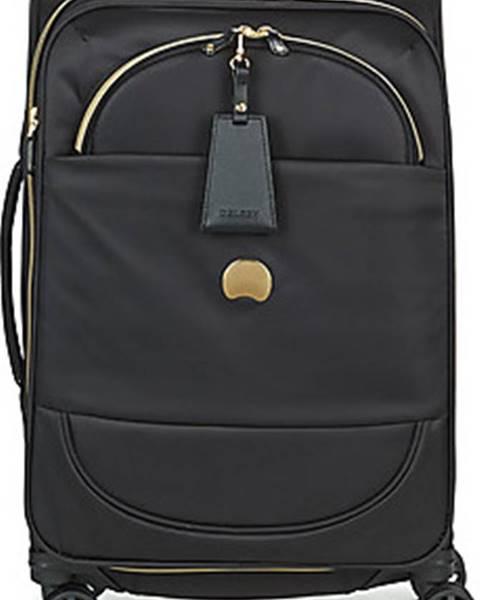 Černý kufr Delsey