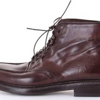 Green George Kotníkové boty 7085MAREMMA Hnědá