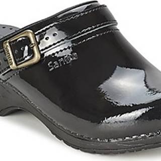 Sanita Pantofle FREYA Černá
