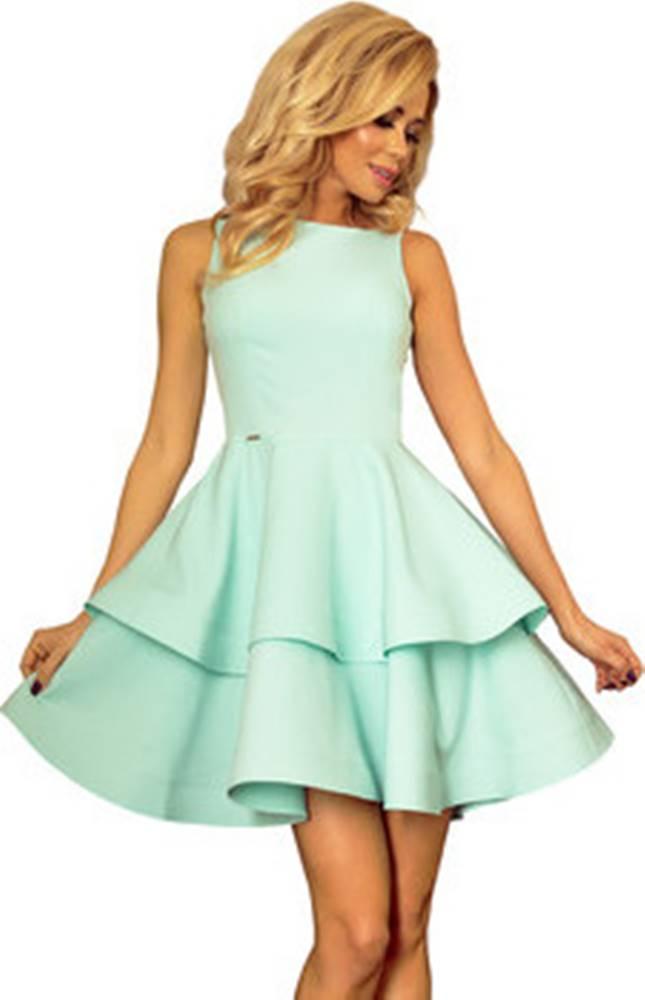 Numoco Numoco Krátké šaty Dámské šaty 169-4 ruznobarevne