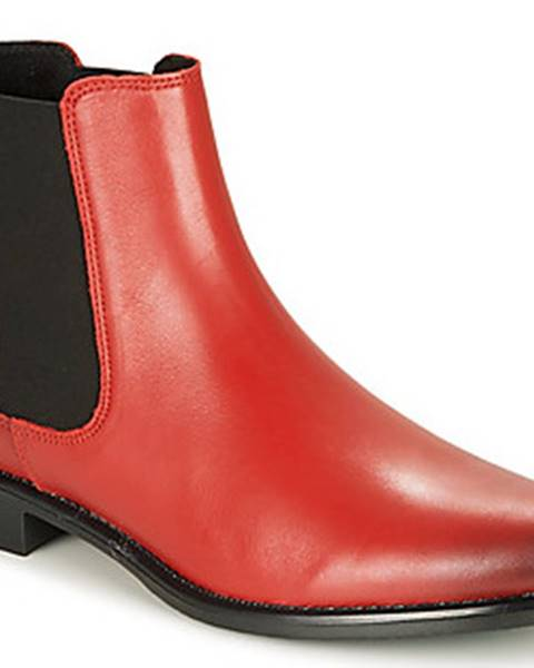 Červené boty Betty London