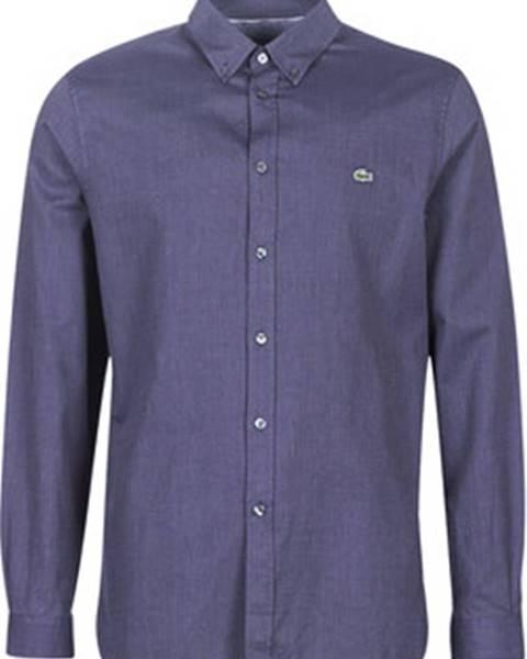 Modrá košile lacoste