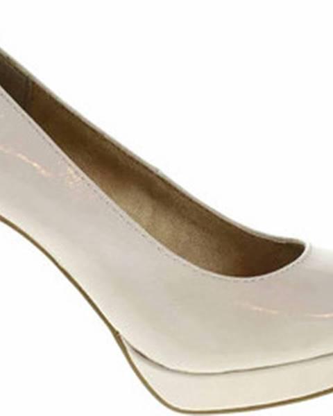 Béžové boty s.oliver