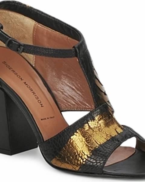 Černé sandály Sigerson Morrison