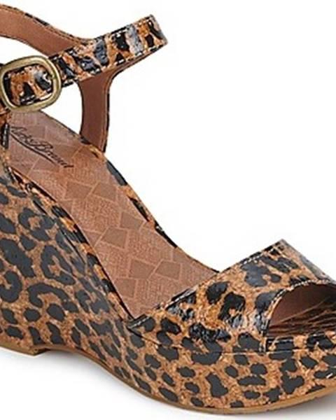 Hnědé sandály Lucky Brand