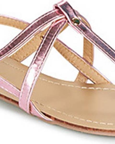 Růžové sandály Moony Mood