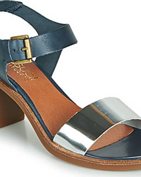 Modré sandály Casual Attitude