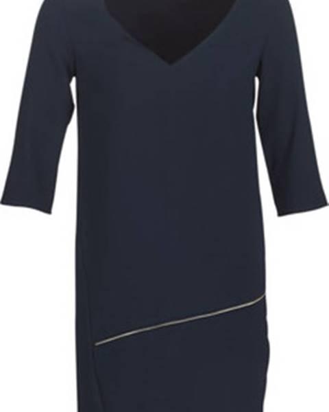 Modré šaty Ikks