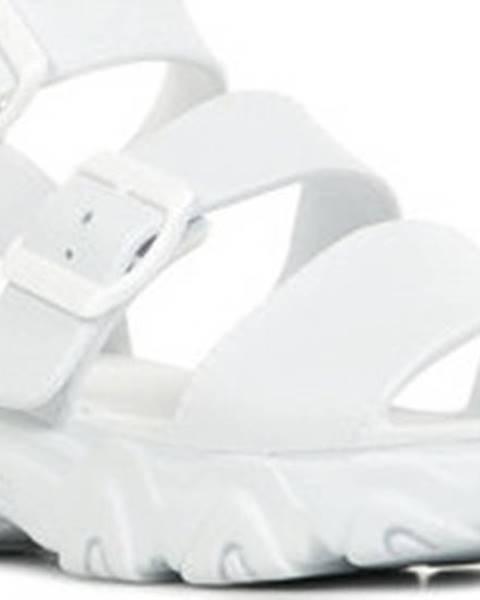 Bílé sandály Skechers