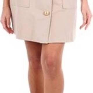 Be Blumarine Krátké sukně 8107 Béžová