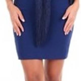 Stella Mc Cartney Krátké šaty 558328SCA06 Modrá