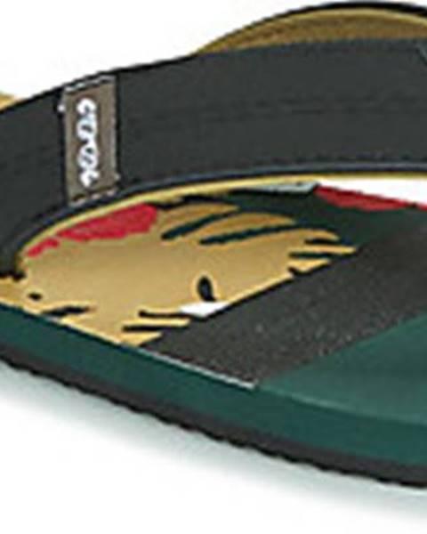 Zelené pantofle Cool Shoe