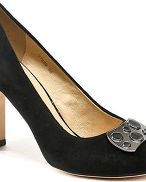 Černé boty Deska E Libera