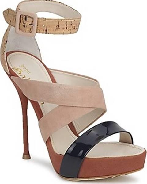 sandály John Galliano