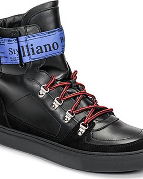 Černé tenisky John Galliano