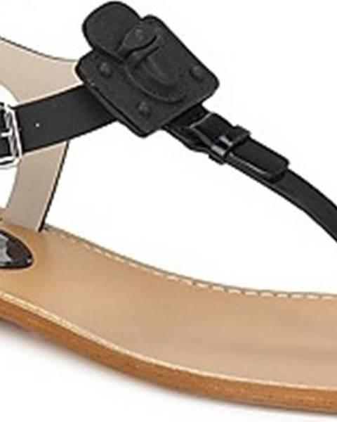 Černé sandály Marc Jacobs