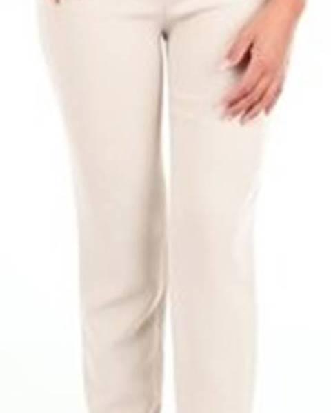 Béžové kalhoty Moschino