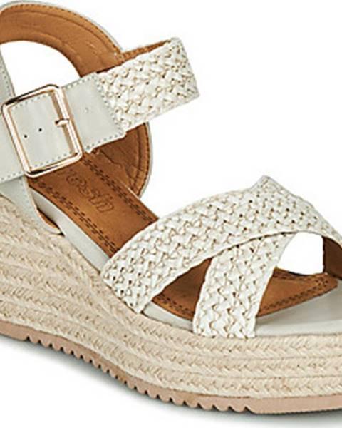 Béžové sandály Refresh