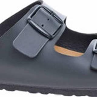 Bio Life Dřeváky Pánské pantofle 0014.649 black Bilbao 178 Černá