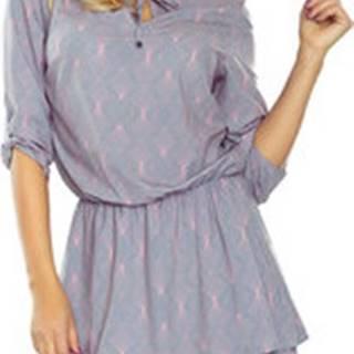 Numoco Krátké šaty Dámské šaty 182-2 ruznobarevne