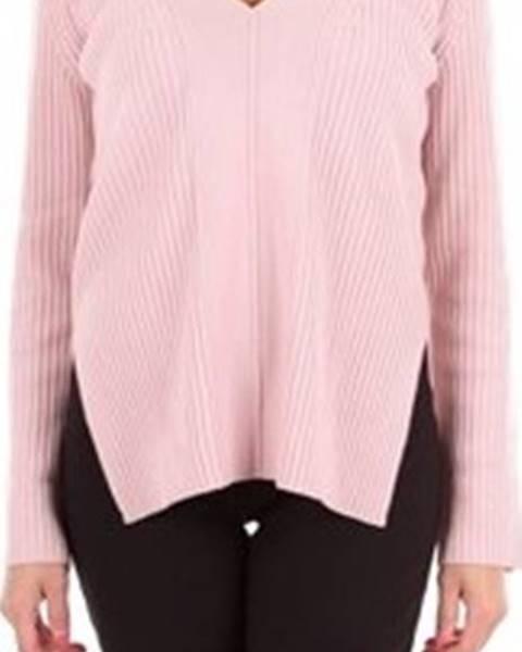 Růžový svetr Alberta Ferretti