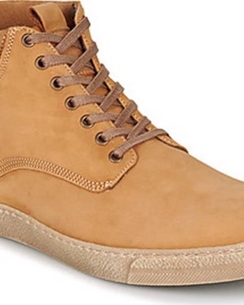 Béžové boty Casual Attitude