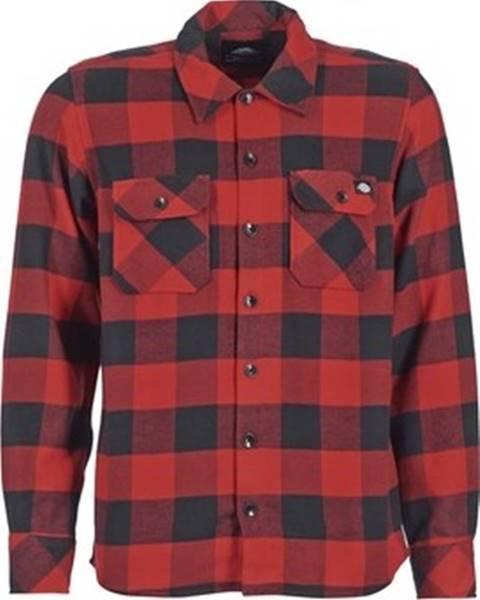 Červená košile Dickies