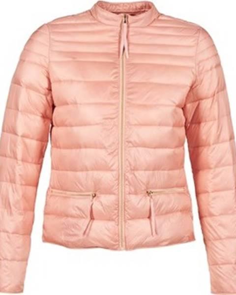 Růžová bunda vila
