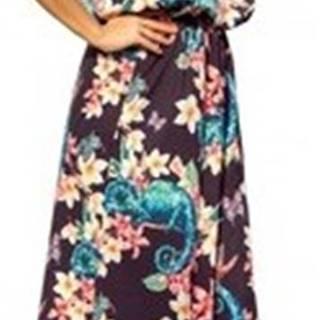 Numoco Společenské šaty Dámské šaty 191-3 ruznobarevne
