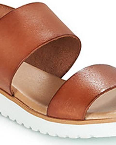 Hnědé sandály Casual Attitude